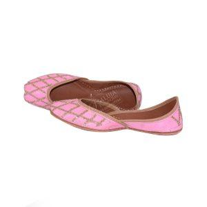 Women's Punjabi Jutti Pink