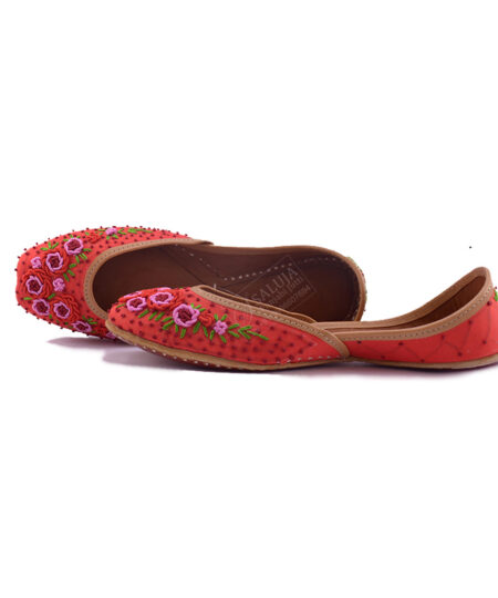 Phulkari Designer Punjabi Jutti