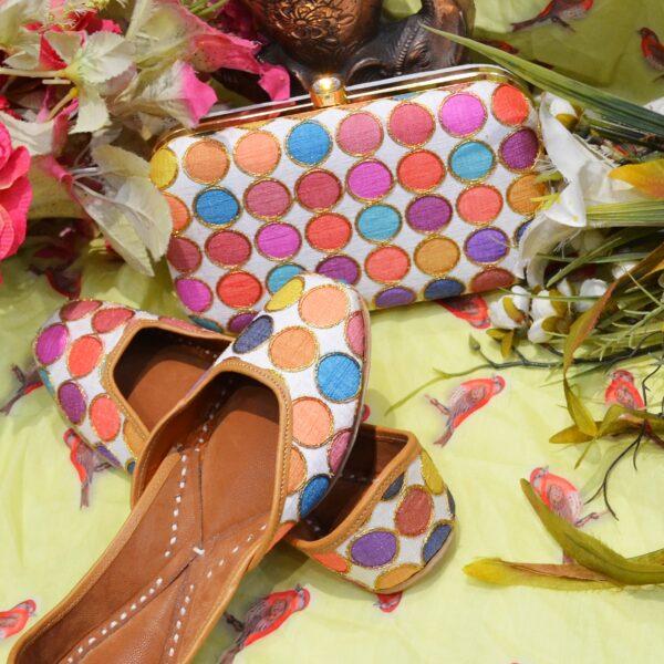 Shoes With Matching Handbag