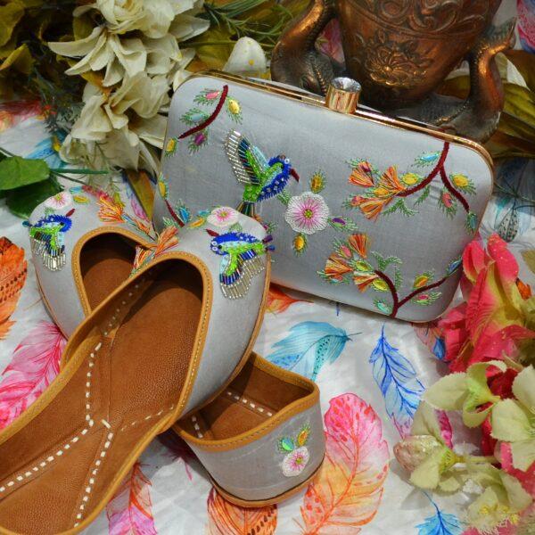 Ladies Shoes And Matching Handbag